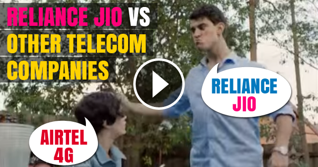 Reliance JIO vs Other Telecom Companies