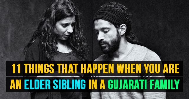 Things that Happen when you are an Elder sibling