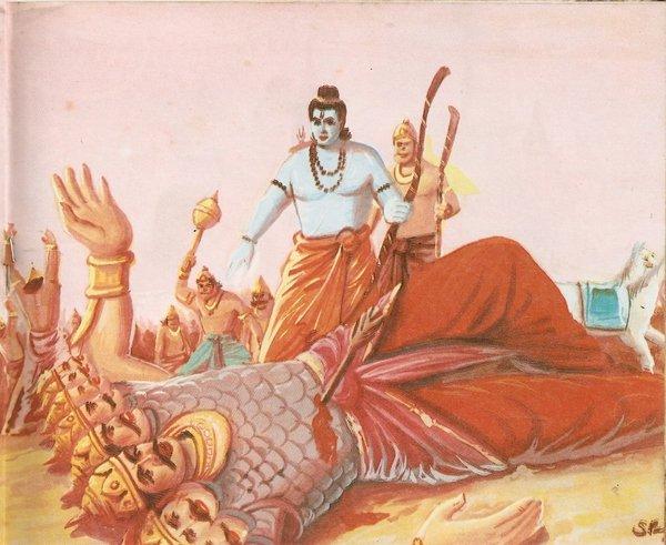 dussehra ram wins ravana