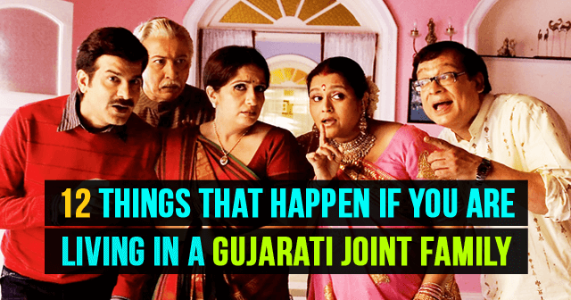 Living In A Gujarati Joint Family