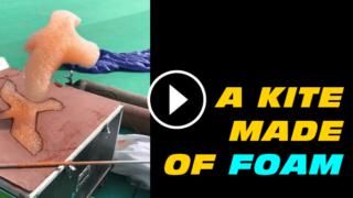 kite made of foam