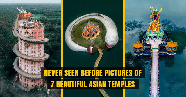 These Never Seen before Pictures of 7 Beautiful Asian Temples will Make Your Day