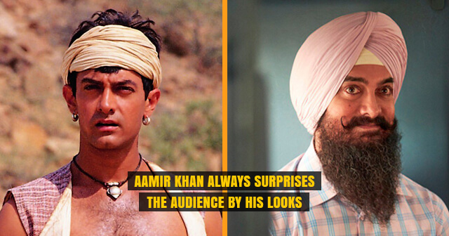 Aamir Khan Always Surprises the Audience by His Looks