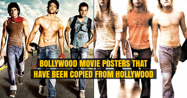 11 Bollywood Movie Posters that Have Been Copied From Hollywood | Have a Look