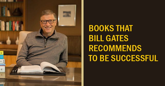 5 Books that Bill Gates Recommends to be Successful | Must Read