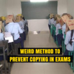College in Karnataka uses Weird Method to Prevent Copying in Exams