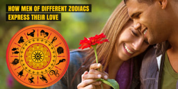 How Men of different Zodiacs Express their Love