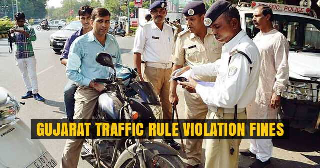 Gujarat Traffic Rule Violation Fines