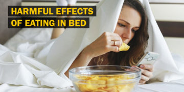Harmful Effects of Eating in Bed