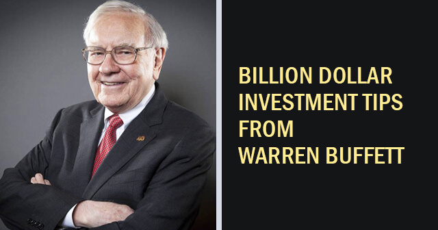 Investment Tips from Warren Buffett