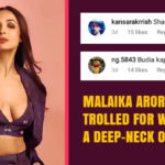 Malaika Arora Gets Trolled for Wearing a Deep-Neck Outfit
