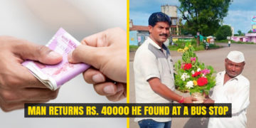 Man having just Rs. 3 Returns Rs. 40000 he found at a Bus Stop