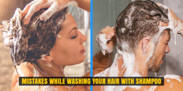 Mistakes While Washing Your Hair with Shampoo