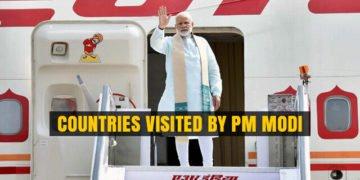PM Modi visited 9 Countries