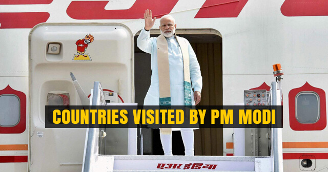 PM Modi visited 9 Countries