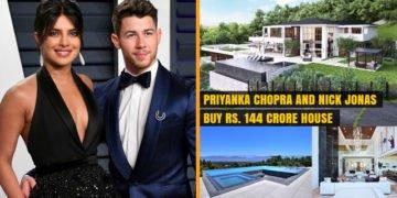 Priyanka Chopra and Nick Jonas buy Rs. 144 Crore House