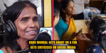 Ranu Mondal Gets Angry on a Fan