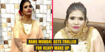 Ranu Mondal Gets Trolled for Heavy Make Up