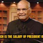 Salary of president of India