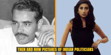 Then and Now Pictures of Indian Politicians