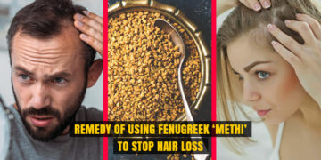 Use Fenugreek 'Methi' to Stop Hair Loss
