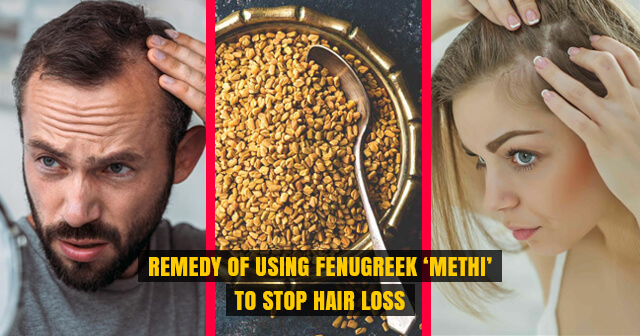 Use Fenugreek 'Methi' to Stop Hair Loss | For Men & Women