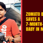 Zomato Boy Saves a 7-month-old baby in Mumbai