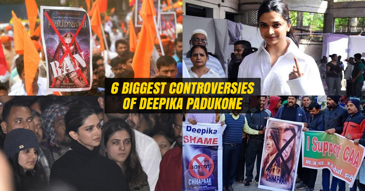 Controversies of Deepika Padukone