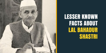 Facts about Lal Bahadur Shashtri