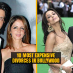 Expensive Divorces in Bollywood