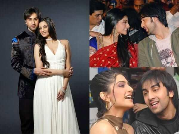 Girlfriends of Ranbir Kapoor