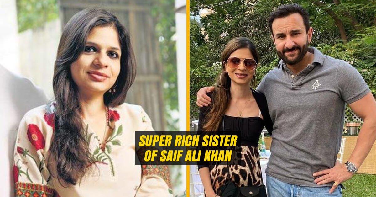 Saif Ali Khan's Sister Saba Ali Khan