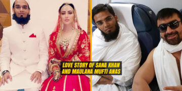 Love Story of Sana Khan and Maulana Mufti Anas