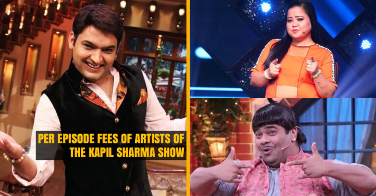 Fees of Actors of The Kapil Sharma Show