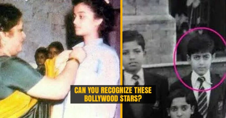 Bollywood stars from their School Days