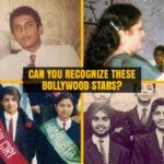 Bollywood stars from their School Days