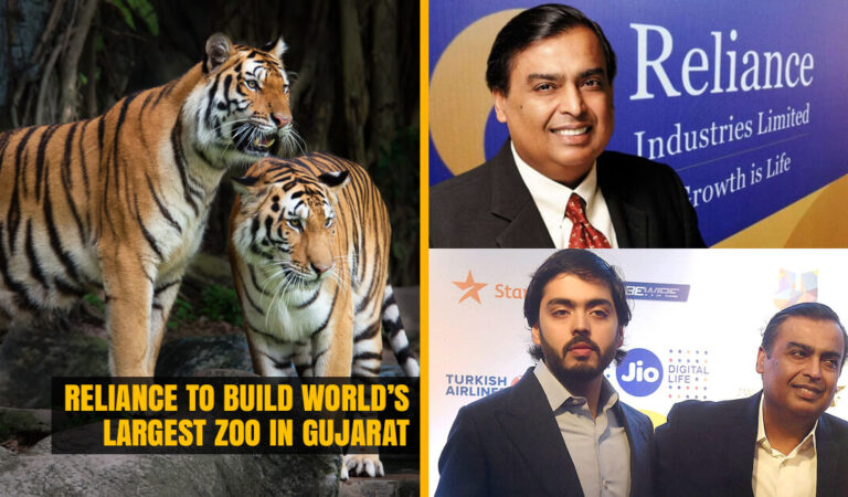 Reliance plans to build World's Largest Zoo in Gujarat, Dream Project of Anant Ambani