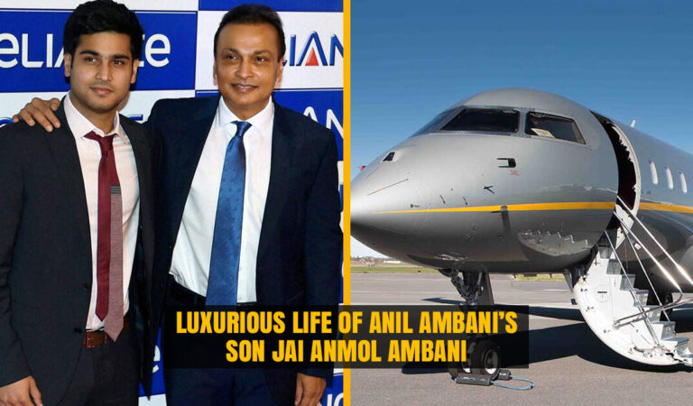 The Luxurious Life of Anil Ambani's son Jai Anmol Ambani who flies in Private Jet