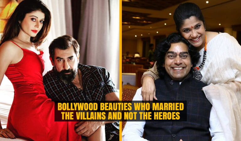 Bollywood Beauties who married the Villains and not the Heroes of Bollywood Industry