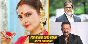 Rekha still apply Sindoor