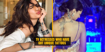 TV Actresses who have got Unique Tattoos