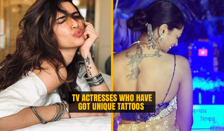 10 Famous TV Actresses who have got Unique Tattoos on their Body