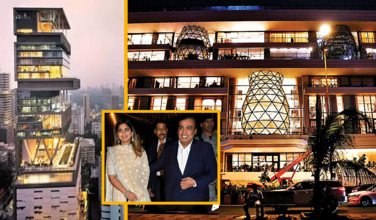 Inside look at Isha Ambani's House which is more Luxurious than Mukesh Ambani's Antilia